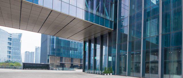Windows of Skyscraper Business Office